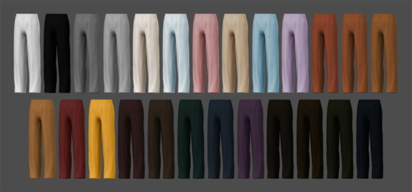 Corduroy Pants from MMSIMS