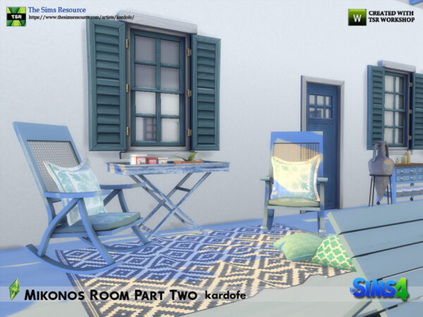 Mikonos Room Part Two by kardofe from TSR