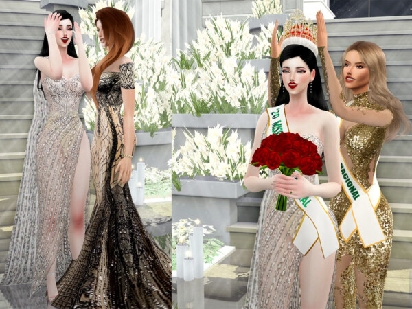 Crowning moment Pose Pack by Beto ae0 from TSR