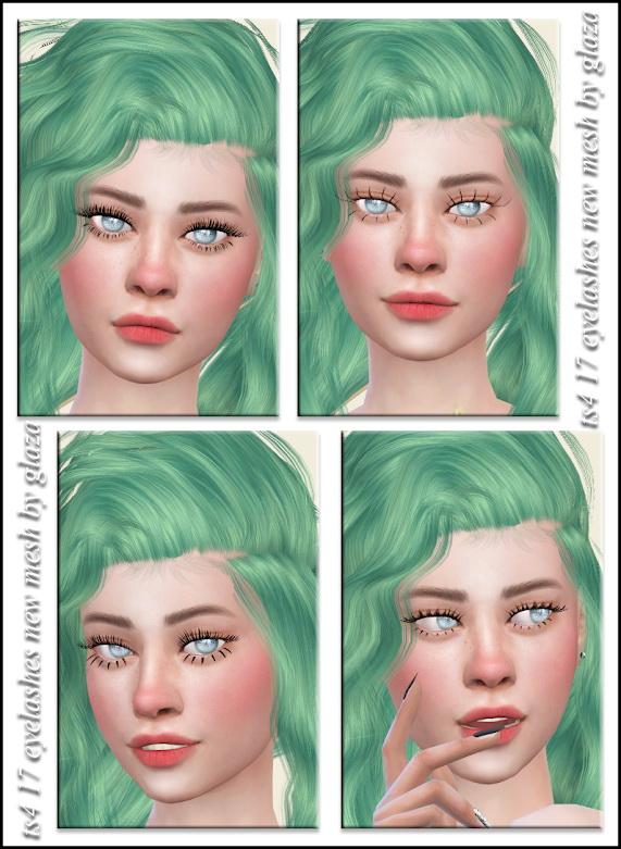 Eyelashes 17 from All by Glaza