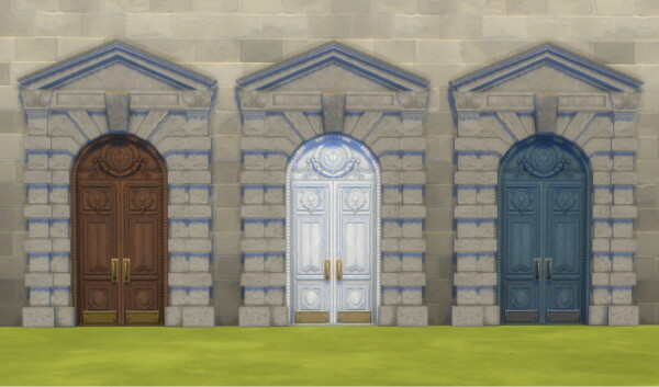 Tuition Dollars Door Recolour by Nutter Butter 1 from Mod The Sims