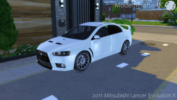 2011 Mitsubishi Lancer Evolution X from Modern Crafter