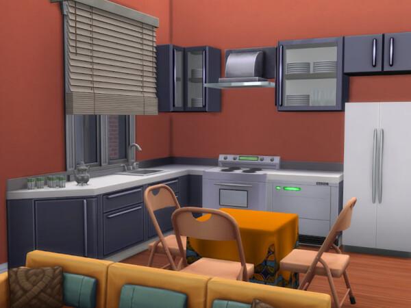 Apartment de Boubacar from KyriaTs Sims 4 World