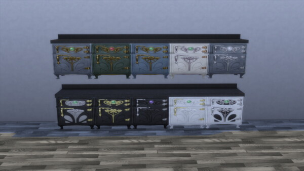 Under Counter Fridges by Teknikah from Mod The Sims