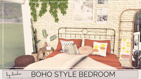 Boho Style Bedroom from Dinha Gamer