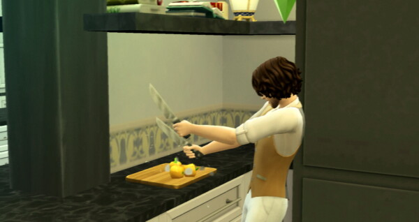 Thai Green Curry New Custom Recipe by RobinKLocksley from Mod The Sims