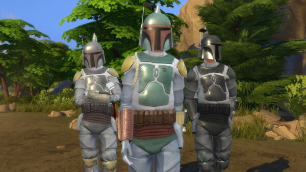 Boba Fetts Armor Cleaned by MasterRevan2015 from Mod The Sims