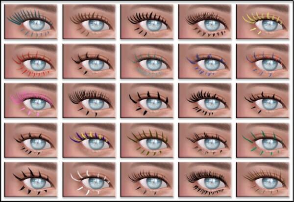 16 eyelashes from All by Glaza