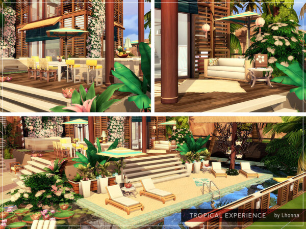 Tropical Experience Home by Lhonna from TSR