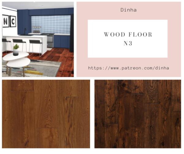 Wood Floor N3 from Dinha Gamer