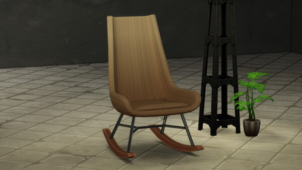RÖOCK Designer Rocking Chair by littledica from Mod The Sims