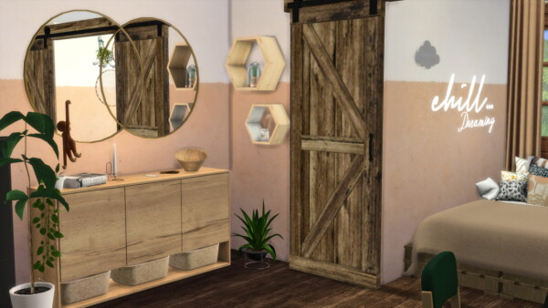 Cozy Bedroom from Models Sims 4