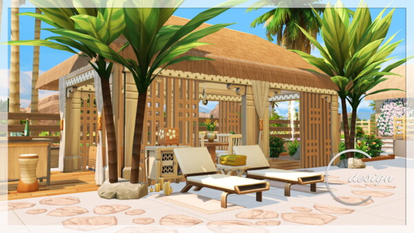 Coconut House from Cross Design