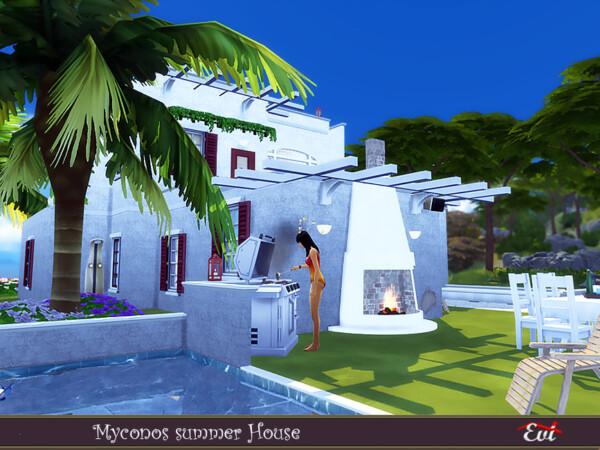 Myconos summer house by evi from TSR