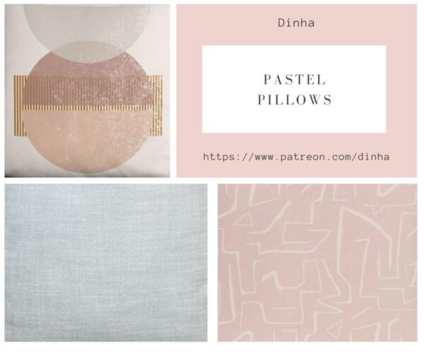 Pastel Pillows from Dinha Gamer