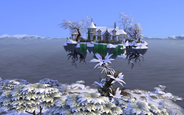 The Beanstalk Cottage by alexiasi from Mod The Sims