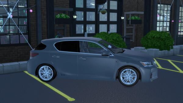2012 Lexus CT 200h from Modern Crafter