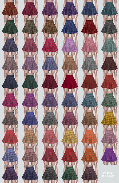 GG Flare Mini Skirt from SIMS4 Marigold