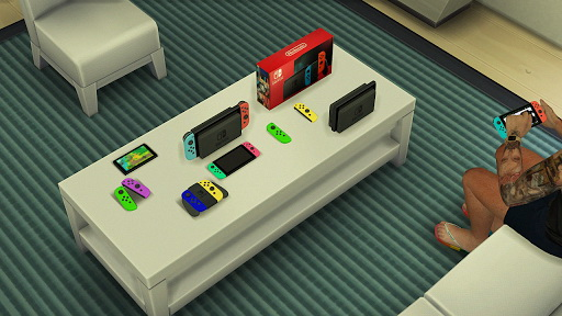 Nintendo Switch from Red Head Sims