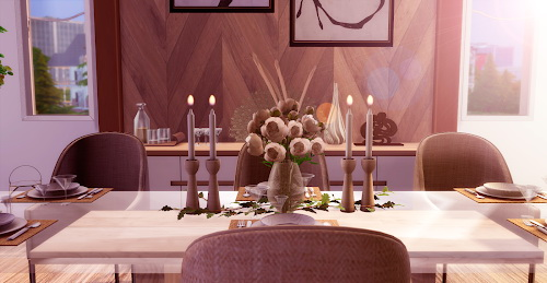 Natalie Dining Room from Liily Sims Desing