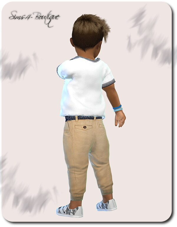 Shirt, Pants and Shoes from Sims4 boutique