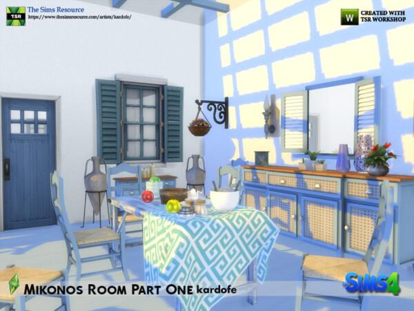 Mikonos Room by kardofe from TSR