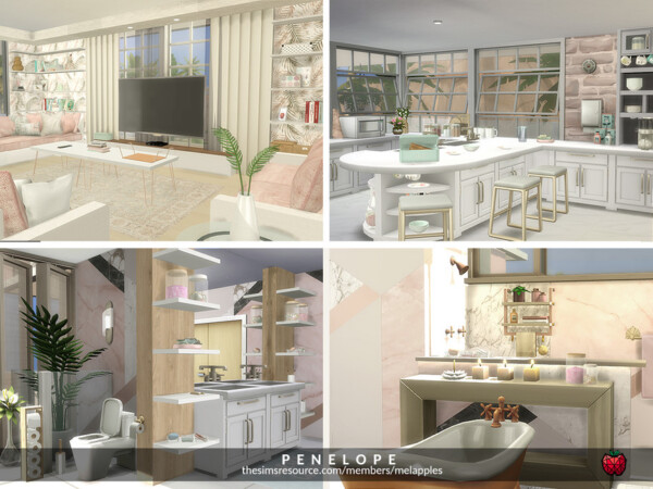 Penelope Home by melapples from TSR