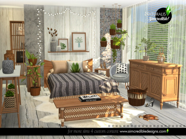 Naturalis Bedroom by SIMcredible! from TSR