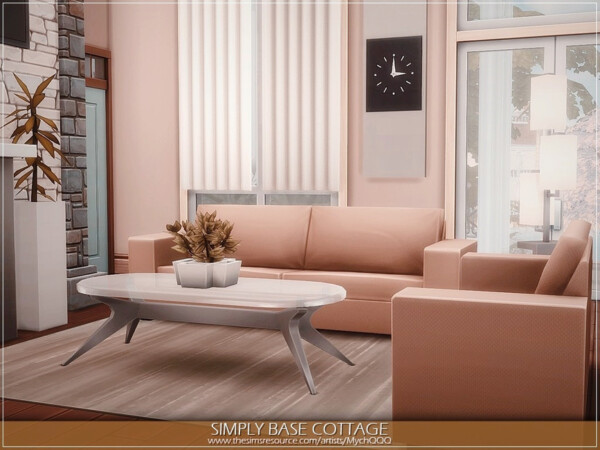 Simply Base Cottage by MychQQQ from TSR