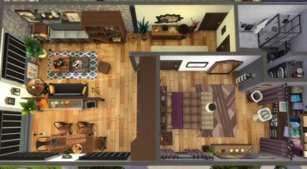 21 rue Chic   Appartement 1310 from Sims Artists
