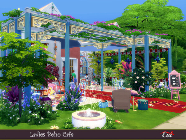 Ladies Boho Cafe by evi from TSR