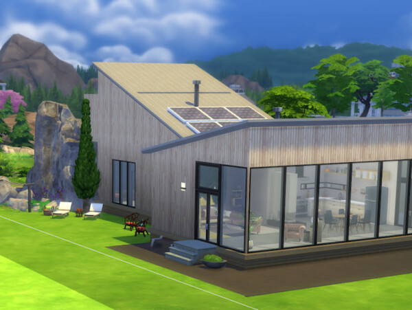 Modern Home from KyriaTs Sims 4 World