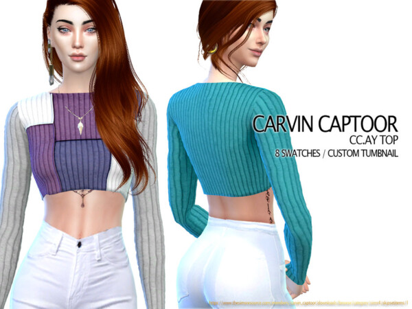 AY Top by carvin captoor from TSR