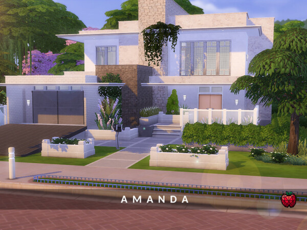 Amanda Home no cc  by melapples from TSR