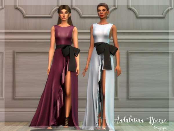 Andalusian Breeze Dress 2 by Laupipi from TSR