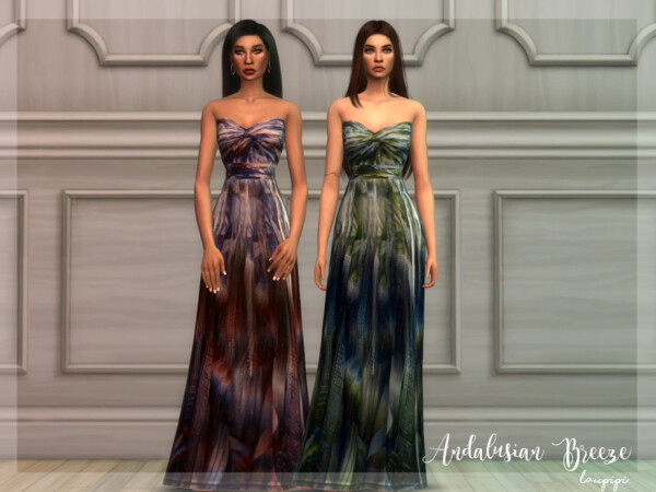 Andalusian Breeze Dress 5 by Laupipi from TSR