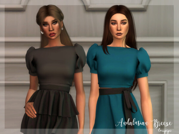 Andalusian Breeze Top 2 by Laupipi from TSR