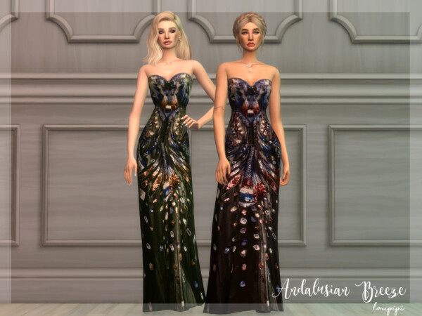 Andalusian Breeze Dress 7 by Laupipi from TSR