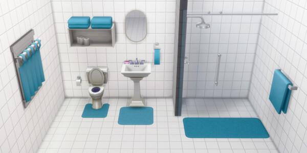 Bathroom Mats from Deelitefulsimmer