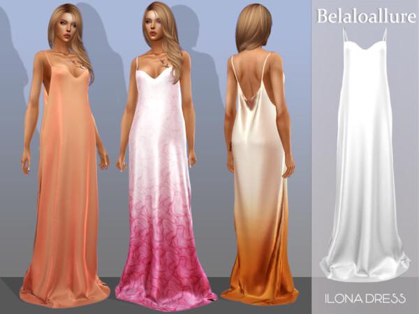 Belaloallure Ilona dress by belal1997 from TSR