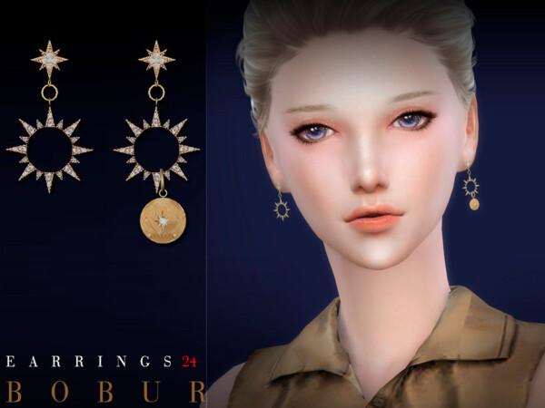 Earrings 24 by Bobur from TSR