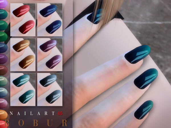 Nails 05 by Bobur from TSR