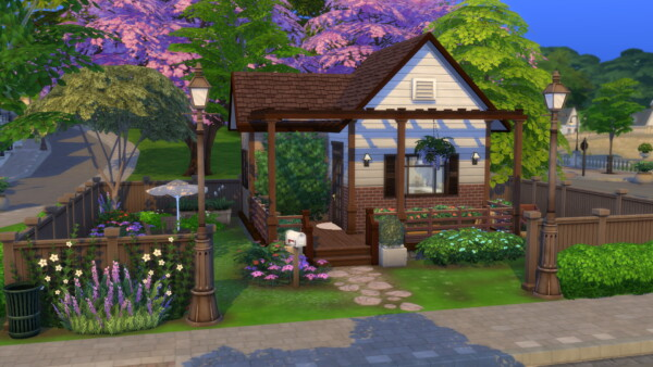 Britechester Starter House by Cassie Flouf from Luniversims