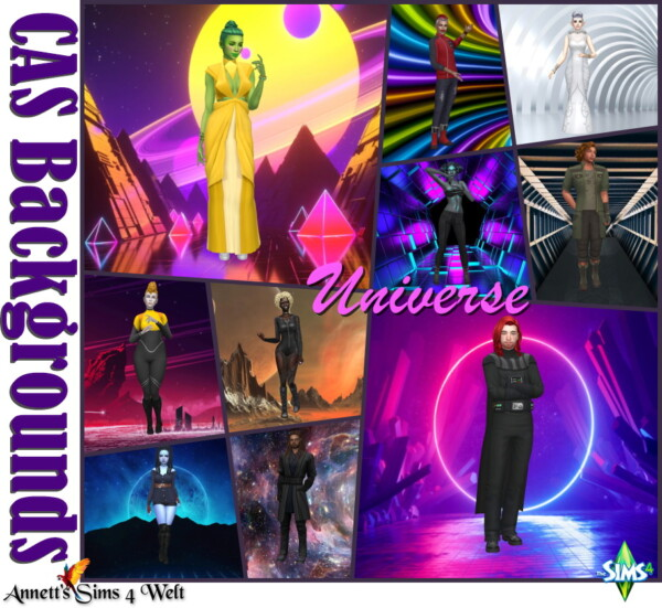 CAS Backgrounds   Universe from Annett`s Sims 4 Welt