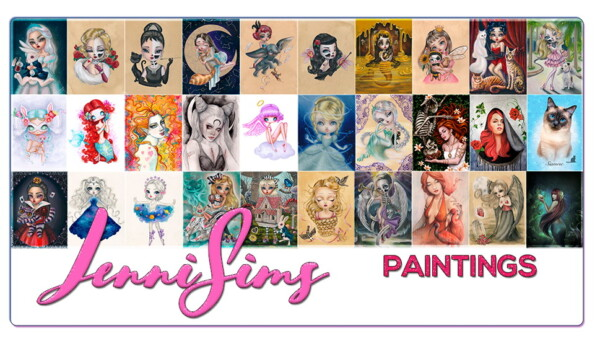 Collection Paintings Magic World from Jenni Sims