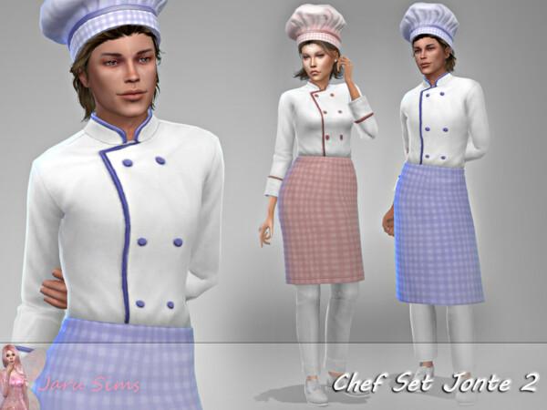 Chef Set Jonte 2 by Jaru Sims from TSR