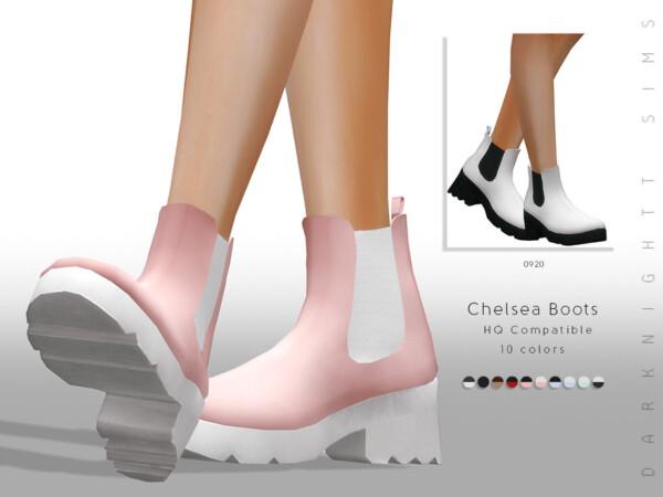 Chelsea Boots by DarkNighTt from TSR