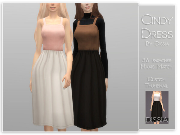 Cindy Dress by Dissia from TSR