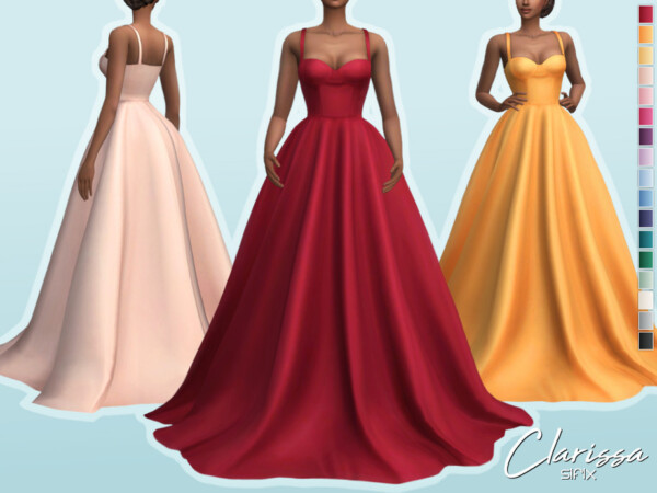 Clarissa Dress by Sifix from TSR