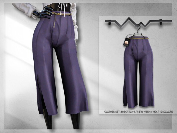 Clothes Set 81 pants by busra tr from TSR